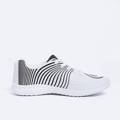 Women's A.M Grey CL-20 Sneakers White