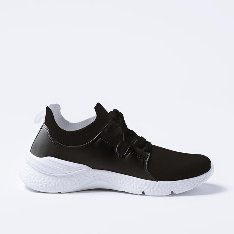 Men's A.M Grey Encore Sneaker  Charcoal