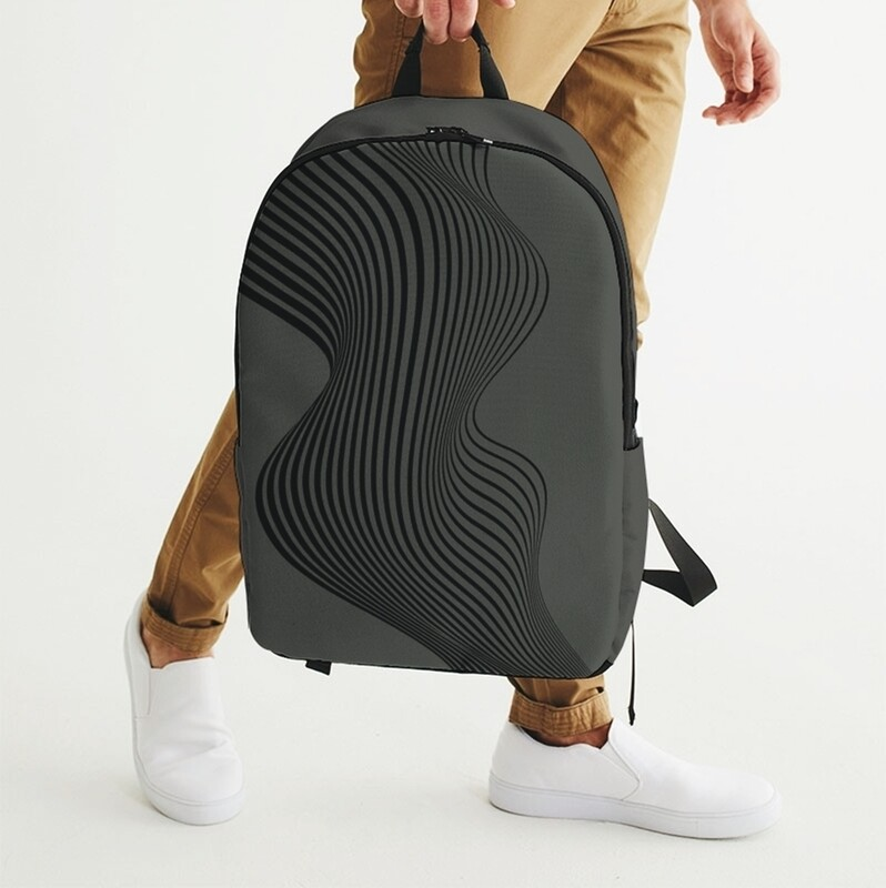 A.M Grey Waterproof Ski Backpack