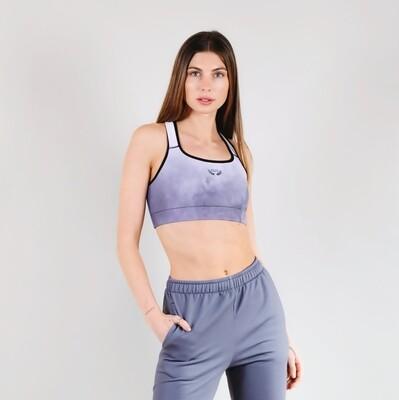 Women's A.M. Grey Haze Performance Sports Bra