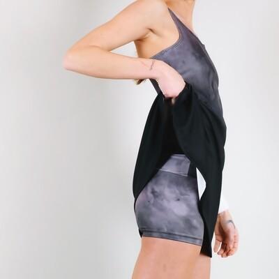 Women's A.M Grey Haze Support Shorts