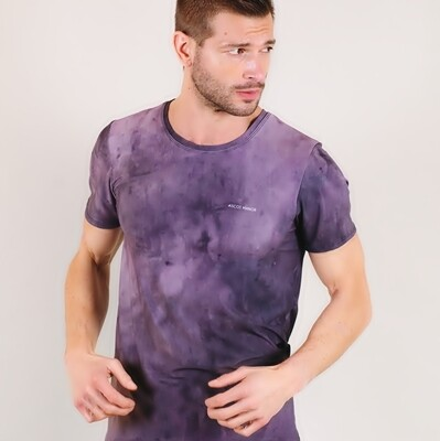 Men's A.M Grey Haze MaxiDri Tennis Shirt
