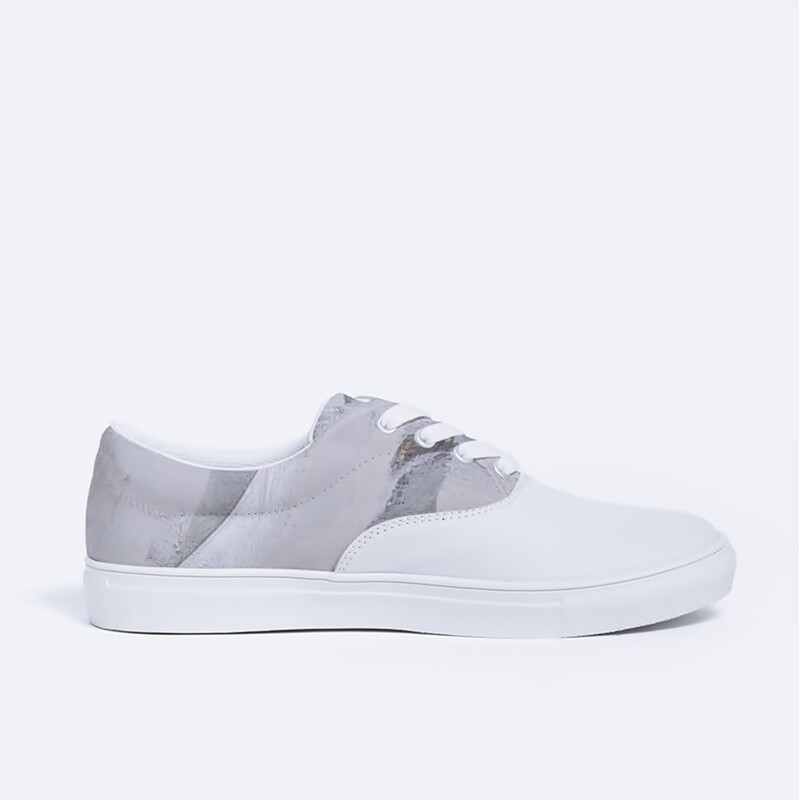 Women's Cultured Class Baseline Canvas Lace Up Shoe