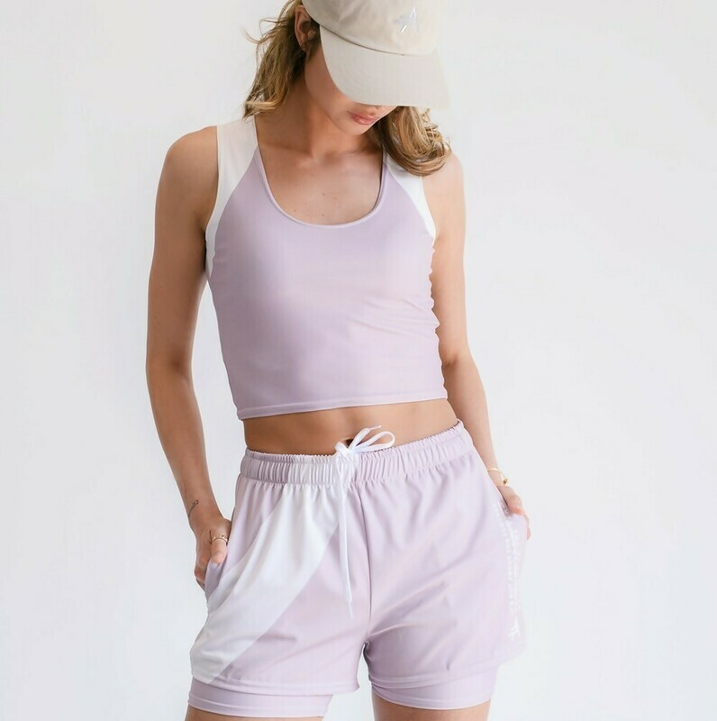 Women's Cultured Class Pale Pink Tennis Shorts