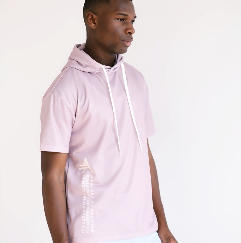 Men's Cultured Class Short Sleeve Hoodie