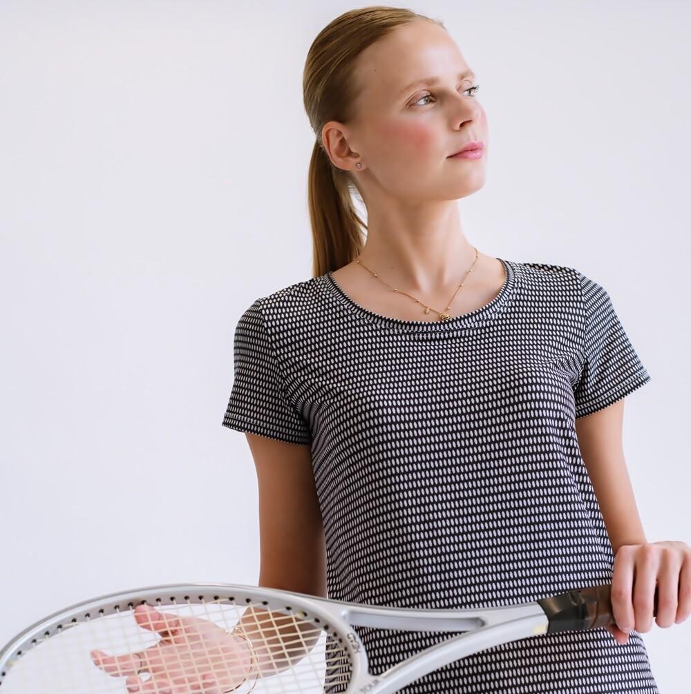 Women's Cultured Class Mesh Tennis Shirt