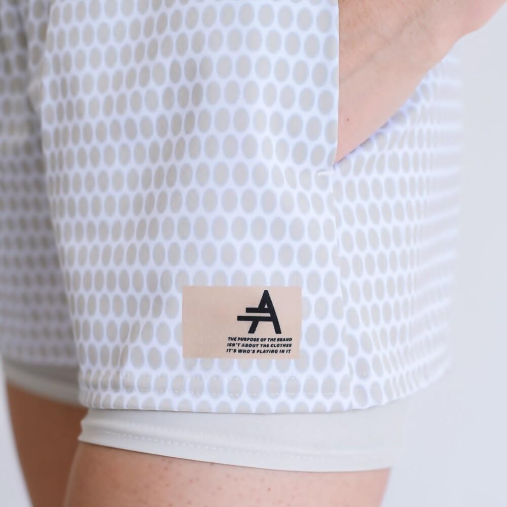 Women's Cultured Class Tennis Support Shorts