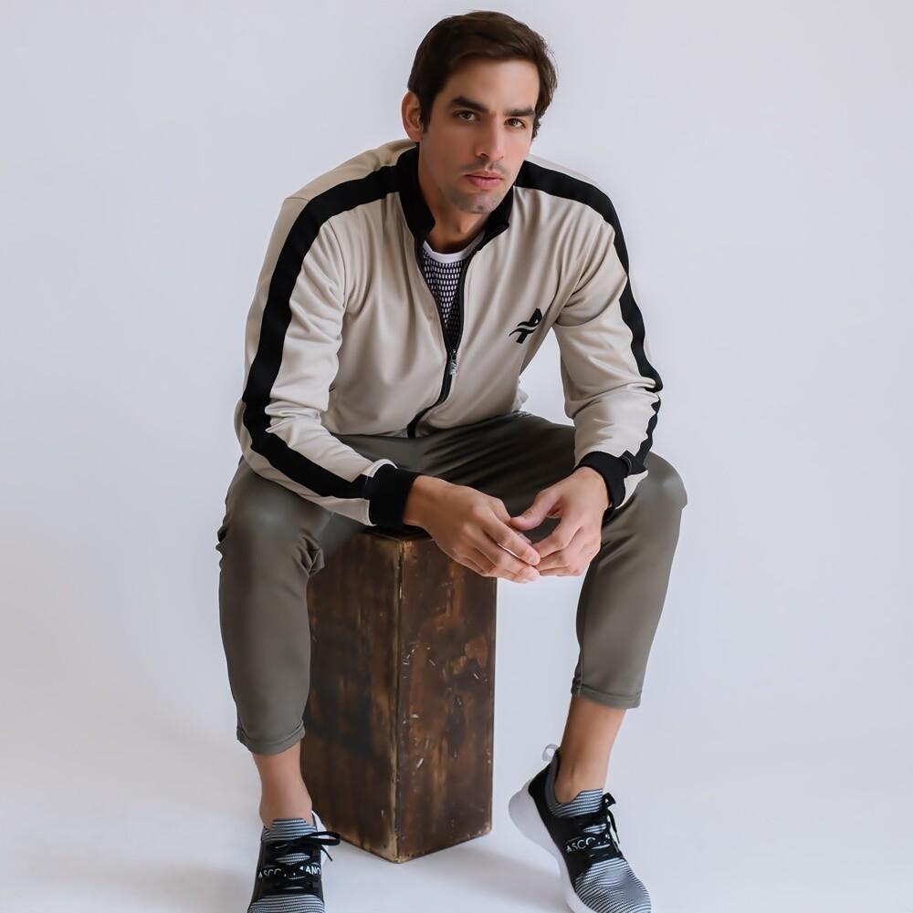 Men's Cultured Class Wear Resistent Track Jacket