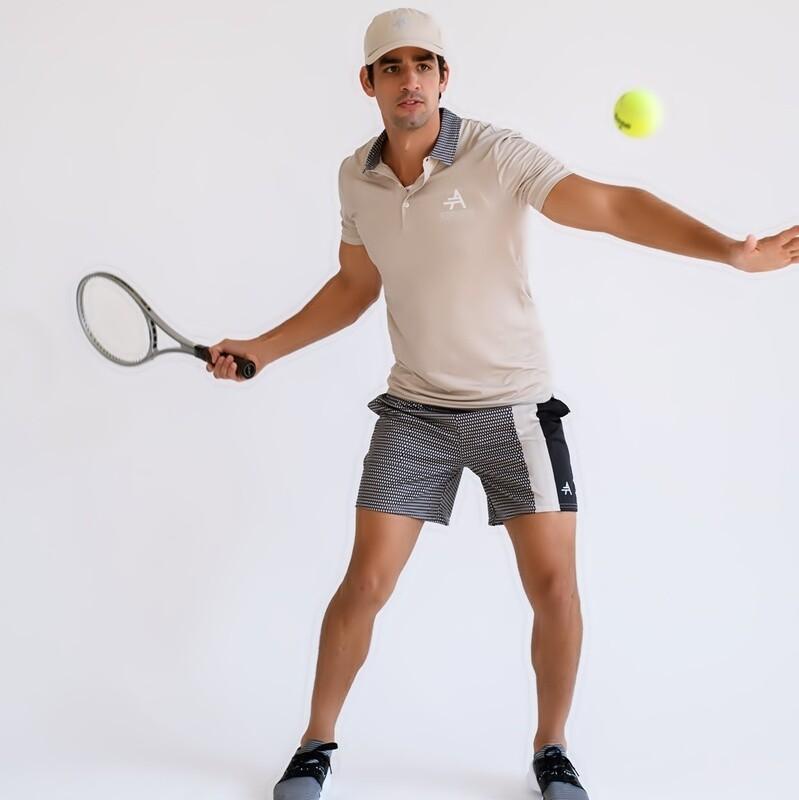 Men's Cultured Class Athletic Tennis Shorts