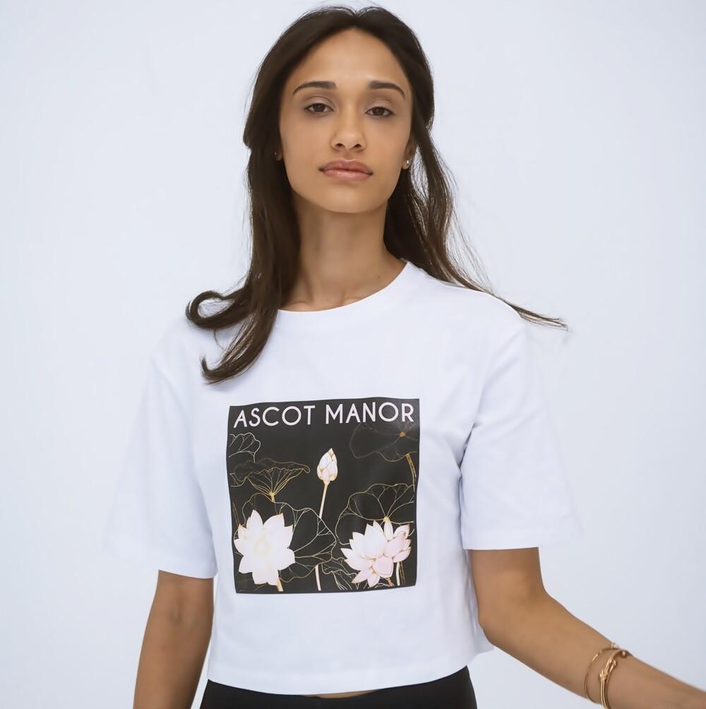 """New"" Women's Aristocrat Cropped Sports T-Shirt"