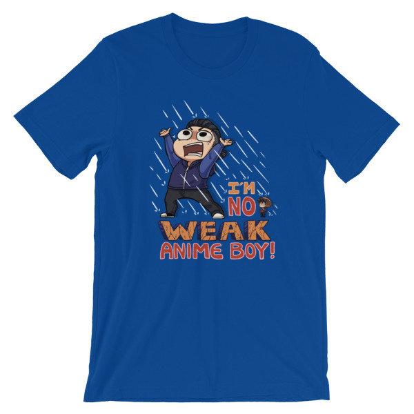 No Weak Anime Boy T-Shirt