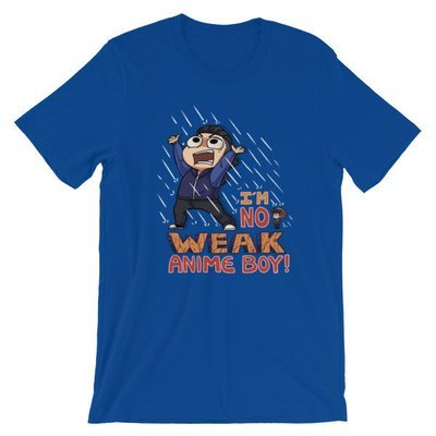 No Weak Anime Boy T-Shirt