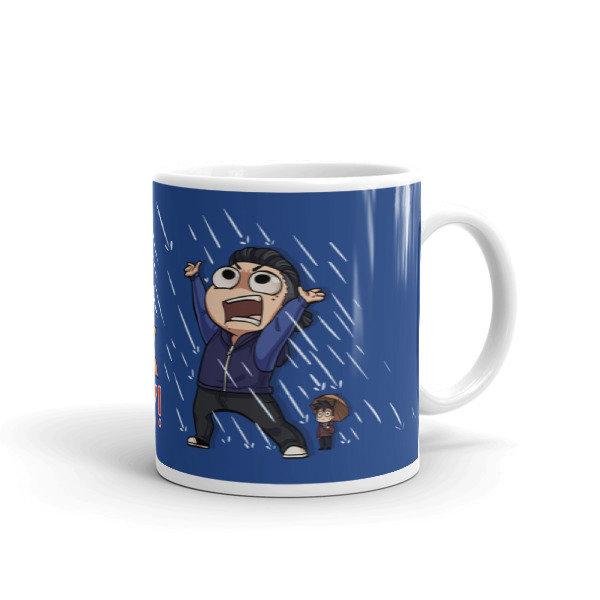 No Weak Anime Boy Mug