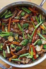 STIR FRY BEEF Dinner