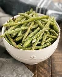 garlic herb string beans