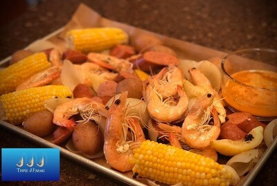 Triple J Farms All-In-One Low Country Shrimp Boil (DELIVERY AUGUST 8TH)