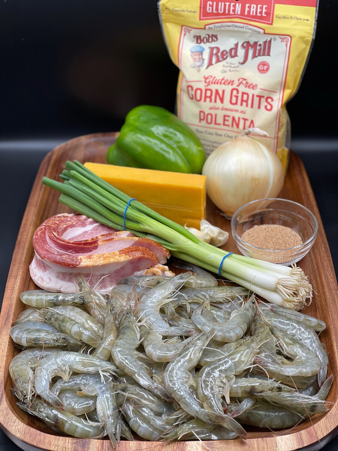 Shrimp and Grits meal kit (DELIVERY MARCH 19TH)