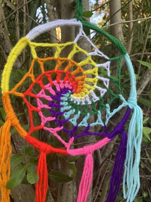 Rainbow Spiral Dreamer