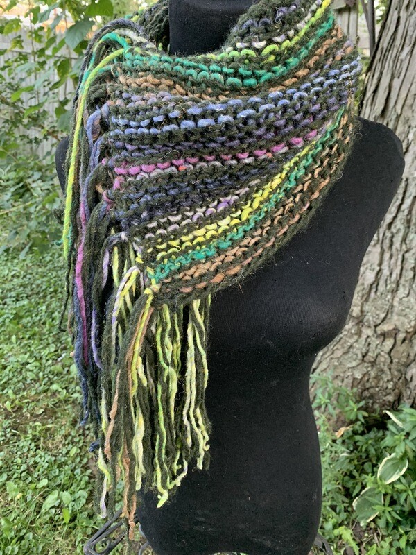 Autumn Vibes Convertible Knit Scarf