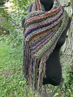 Autumn Vibes Knit Wrap