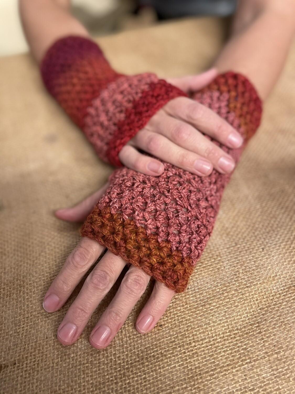 Crochet Texting Gloves