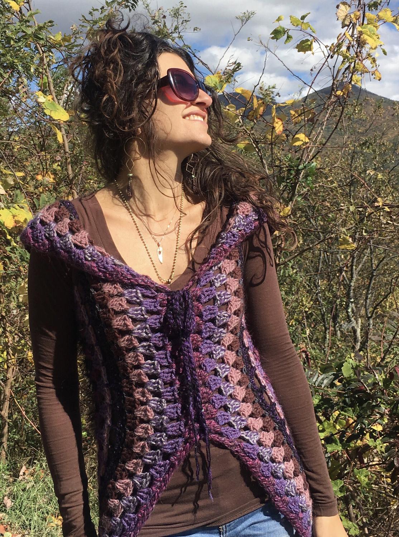 Crochet Mandala Vest