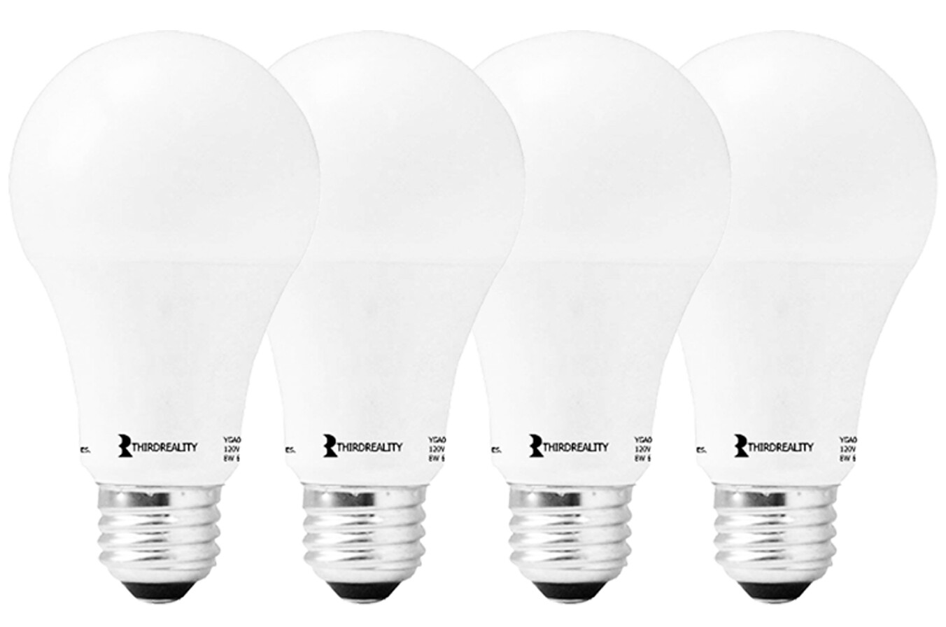​Third Reality Smart LED Light Bulbs A19 (4 pack)