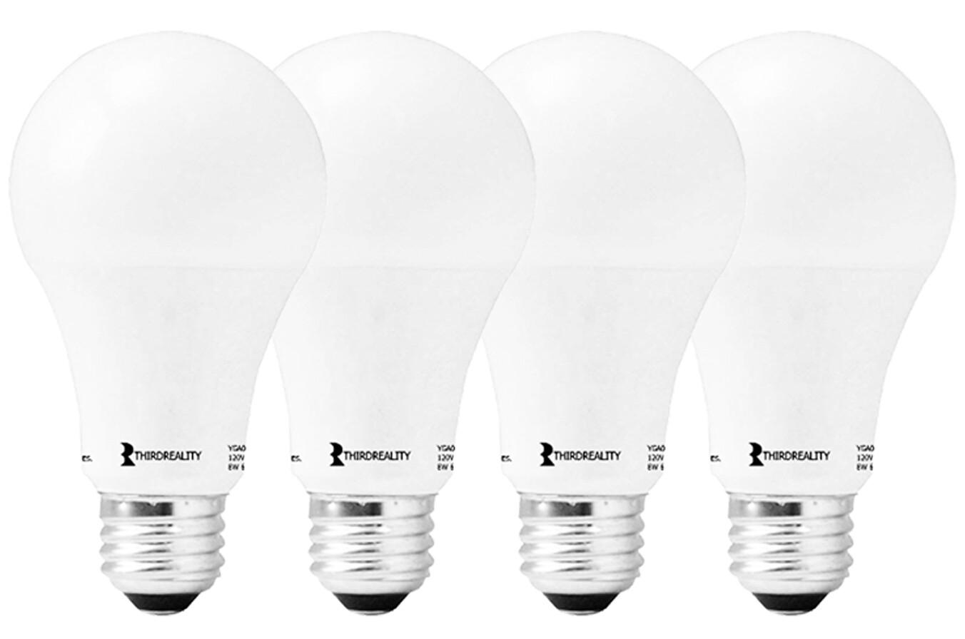 Third Reality Smart LED Light Bulbs A19 (4 pack)