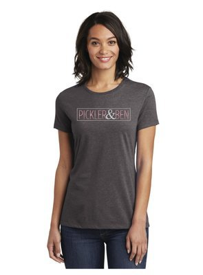 Pickler & Ben Charcoal T-Shirt