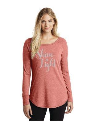 Shine a Light Long Sleeve Crew Neck T-shirt