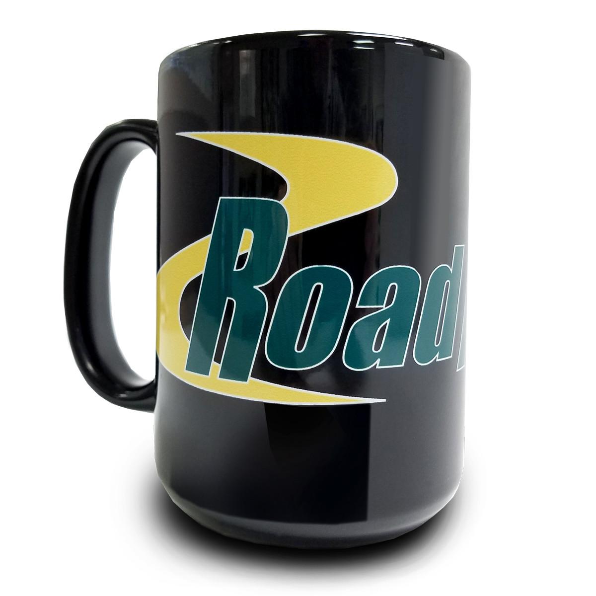 RA Black Coffee Mug