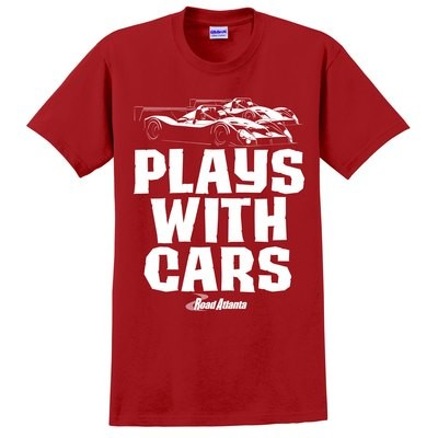 Still Plays With Cars Tee - Red