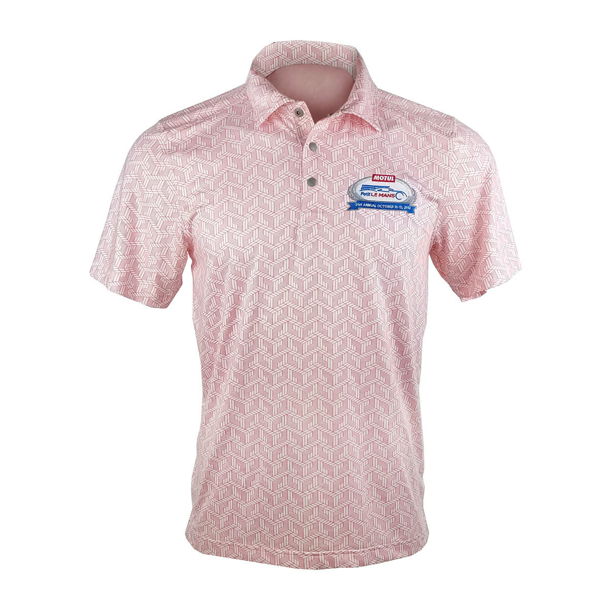 2018 MPLM Mens Golf Shirt- Red
