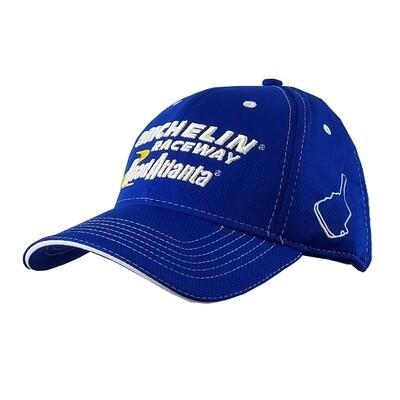 Michelin Raceway Road Atlanta Mesh Hat - Royal Blue
