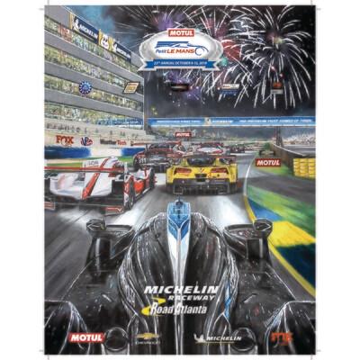 2019 Motul Petit Le Mans Poster - 18 x 24