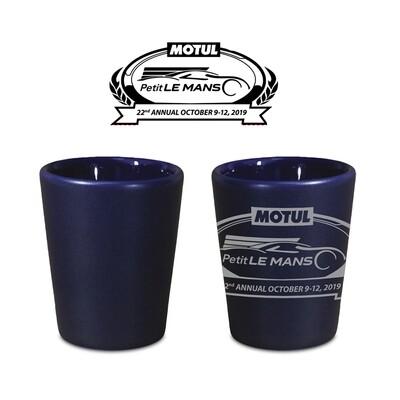 2019 Motul Petit Le Mans Shot Glass Blue
