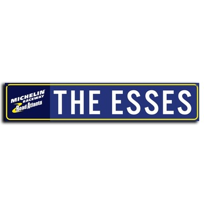 Street Sign - The Esses