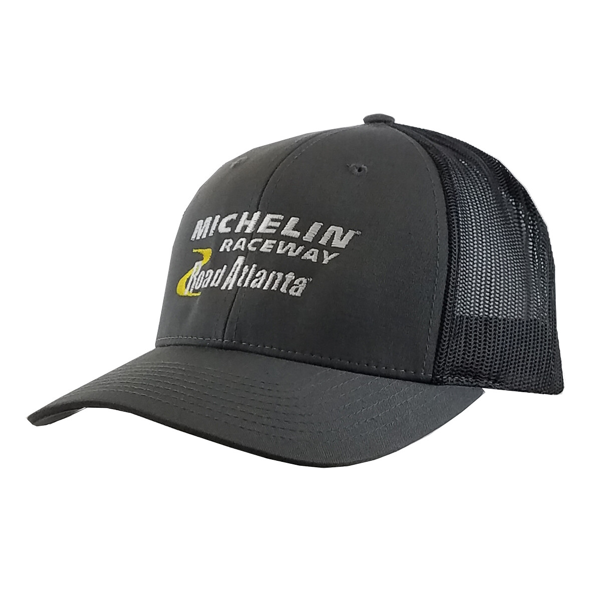 Michelin Raceway Road Atlanta Trucker Low Profile Hat - Charcoal/Black