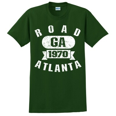 RA Athletic Text- Forest Green