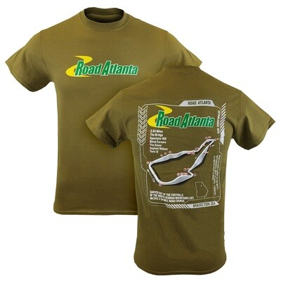 RA 3D Track Outline Tee - Tan