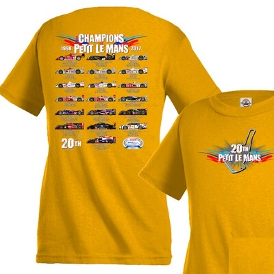 2017 PLM Youth Champions Tee - Gold