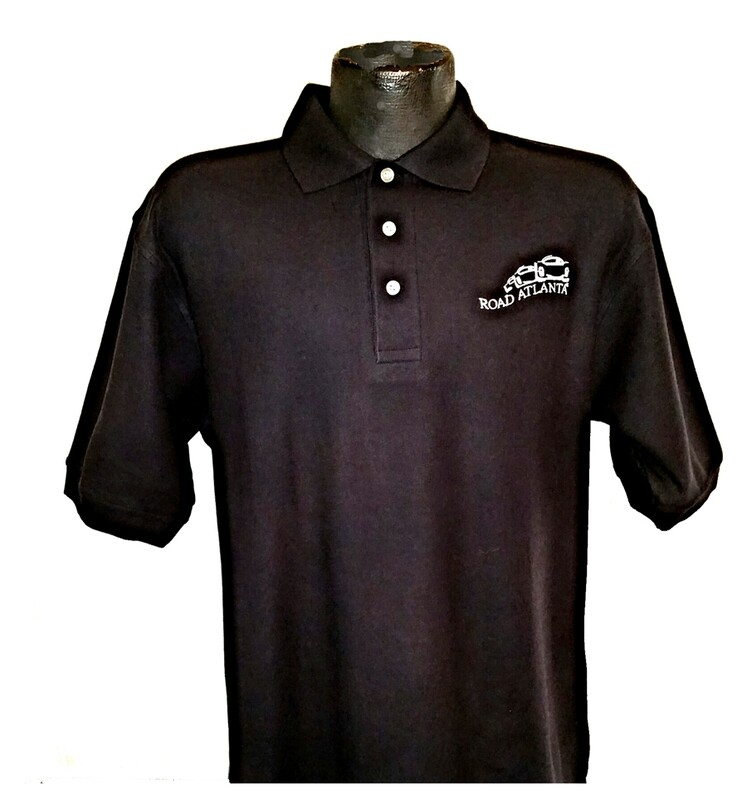 RA Vintage Cotton Polo - Black