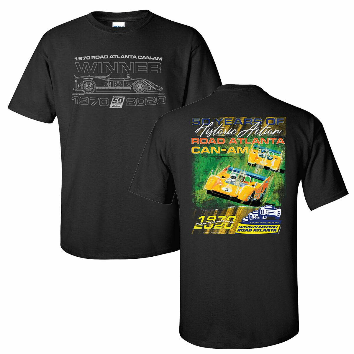 50th Can-Am T-Black