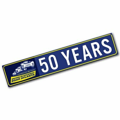 Street Sign - 50 Years