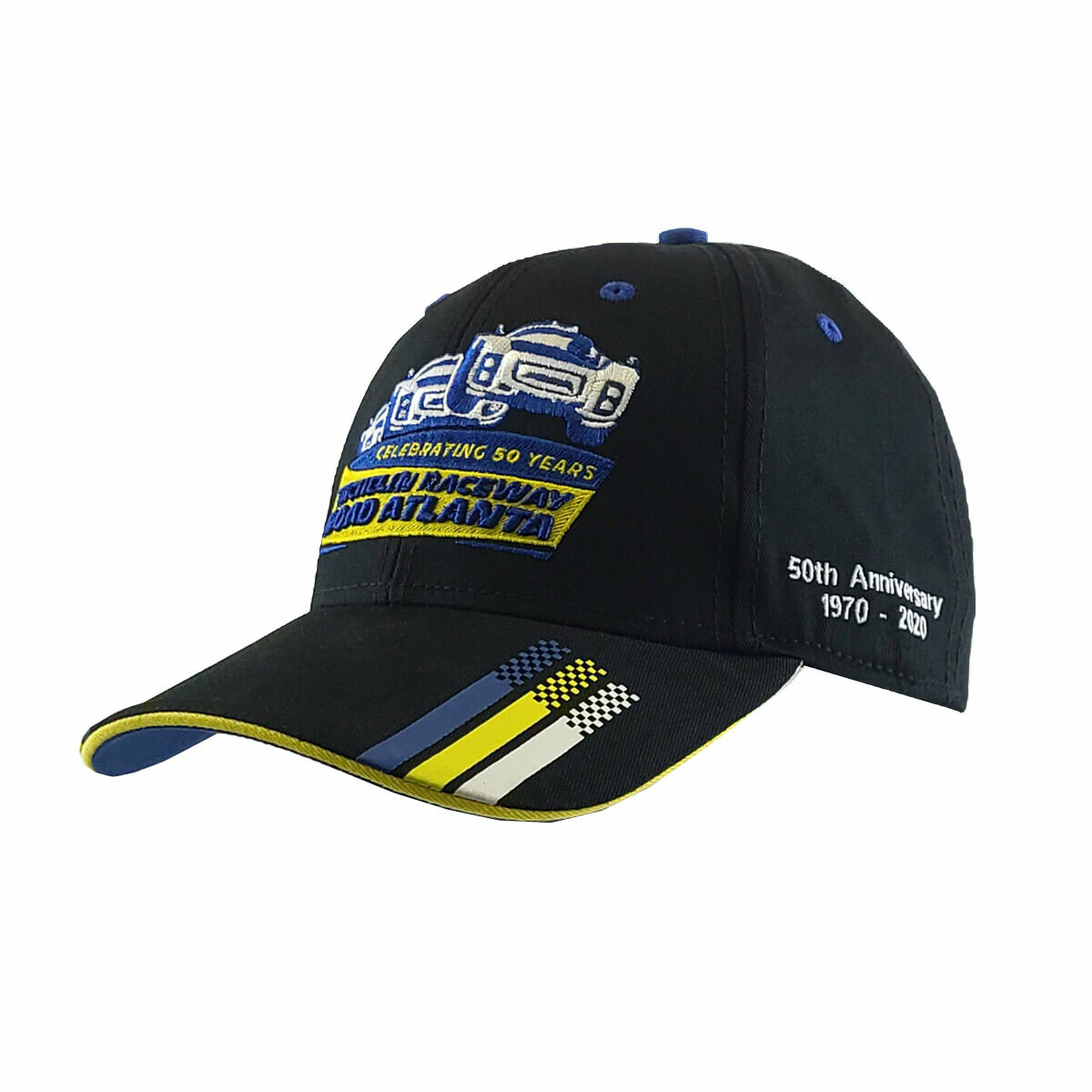 50th Vintage Cars Hat - Black/Royal
