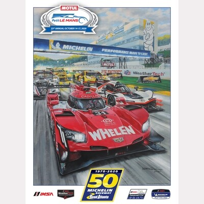 2020 Motul Petit Le Mans Poster