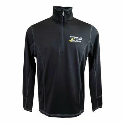 MRRA 1/4 Zip Pullover-Black