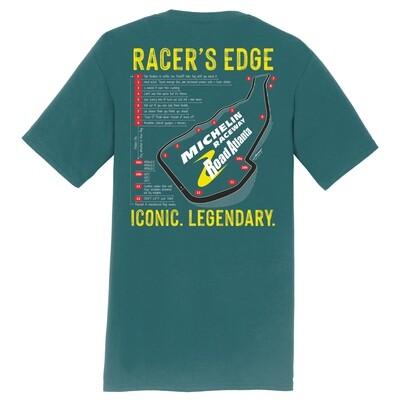 Racer's Edge T-Marine Grn