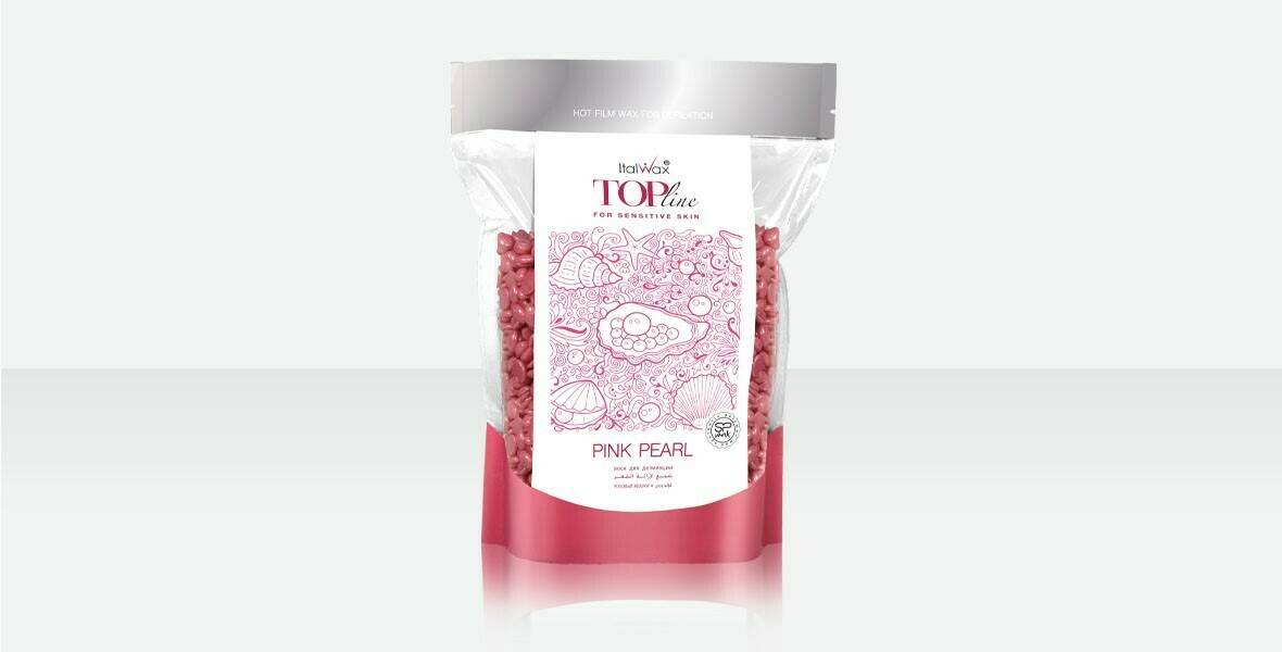 Pink Pearl 1.654 lbs - Hard Stripless Wax Beads