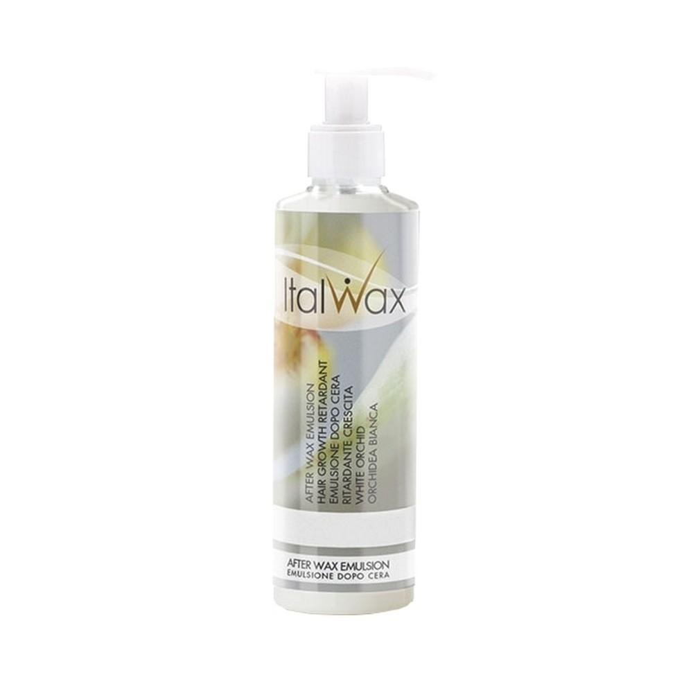 AFTER WAX EMULSION HAIR GROWTH RETARDANT WHITE ORCHID 250ML 8.45OZ ITALWAX